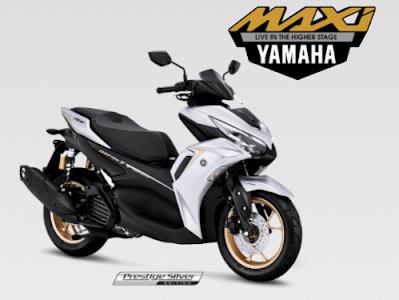 All New Yamaha Aerox Terbaru 2021