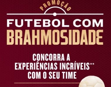 Cadastrar BRAHMOSIDADE Brahma Futebol 2021 Promoção