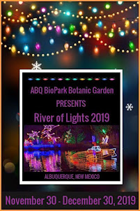 River of Lights! - Bring your best friend for a quick trip to Albuquerque!