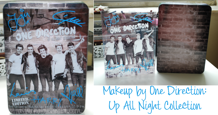 Fashionable Heart | One Direction Up All Night Makeup Collection