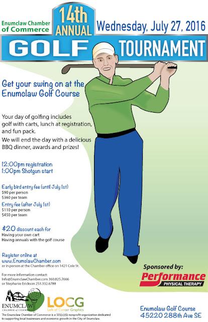 Swinging Golfer