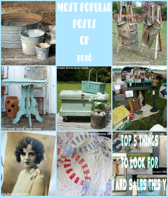blog posts, most views, primitives, vintage finds