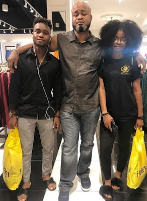 Iyabo ojo ex husband with his children