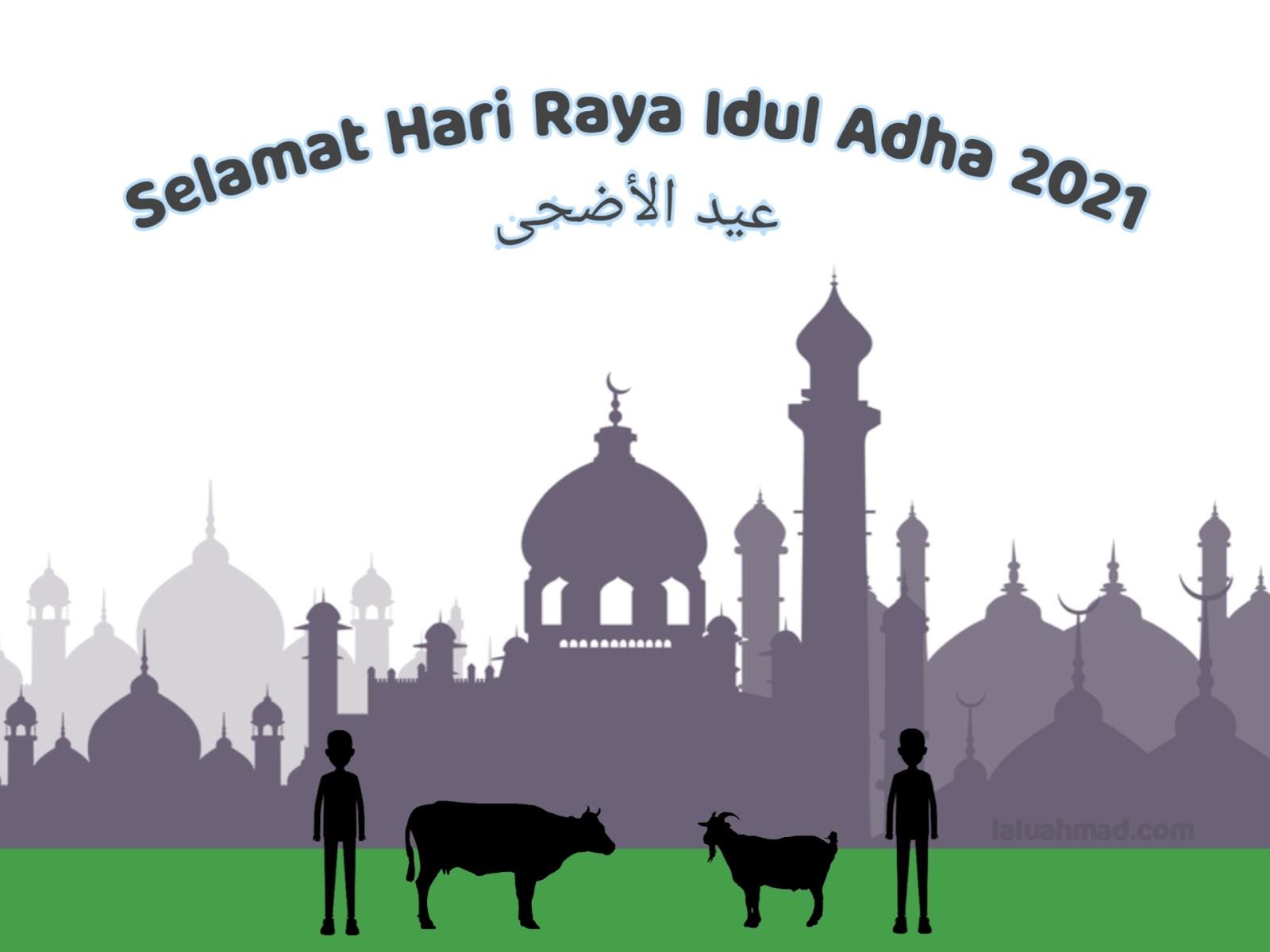 Gambar, Ucapan Selamat Hari Raya Idul Adha 2021