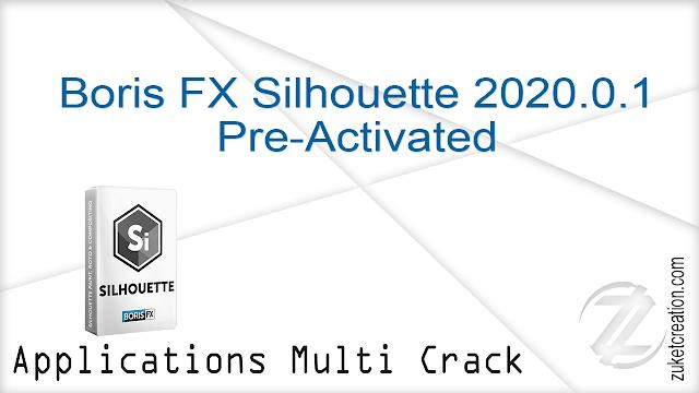 Boris FX Silhouette 2020.0.1 Pre-Activated