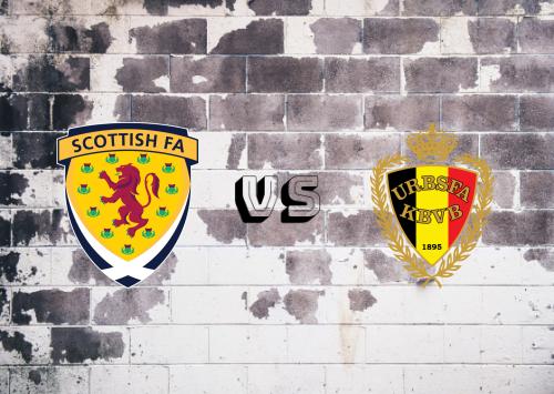 Escocia vs Bélgica  Resumen y Partido Completo
