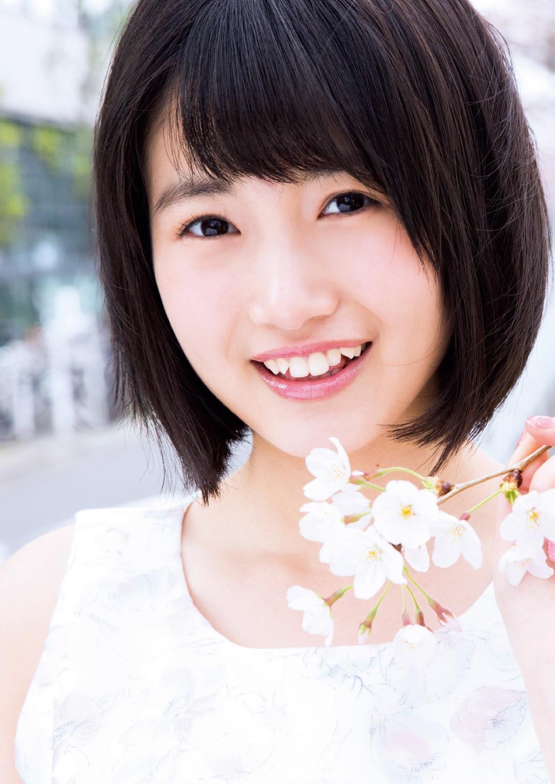 Tomonaga Mio 朝長美桜 HKT48, FLASH Magazine Special Gravure BEST 2016.05.25