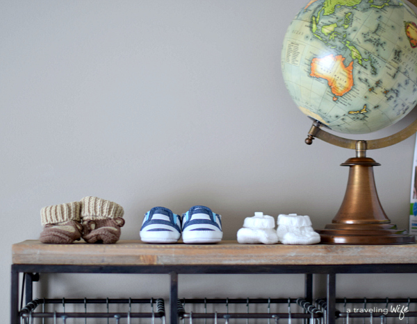 DIY Travel Themed Crate and Nursery Tour | www.atravelingwife.com | a-traveling-wife
