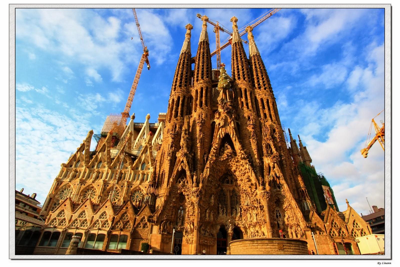 pssbc10's territory: (西班牙)巴塞隆納:聖家堂 Sagrada Familia