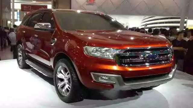 Stout Body of 2016 Ford Everest