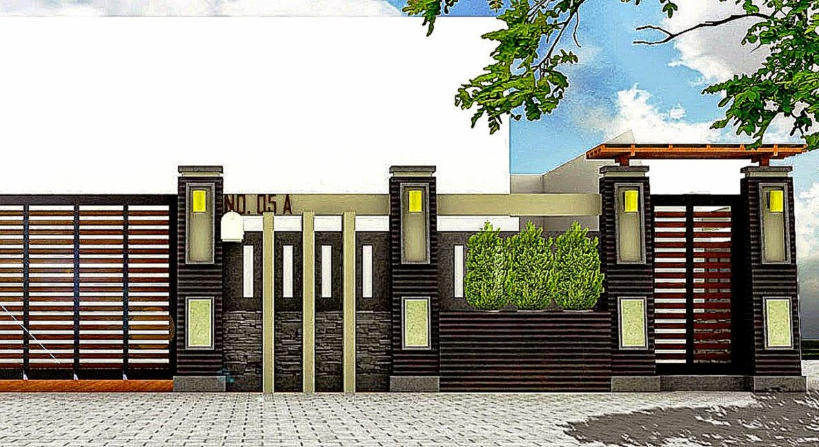 Pagar Tembok Rumah Minimalis | Design Rumah Minimalis