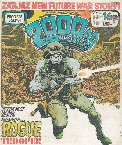 2000 AD Prog 228, Rogue Trooper