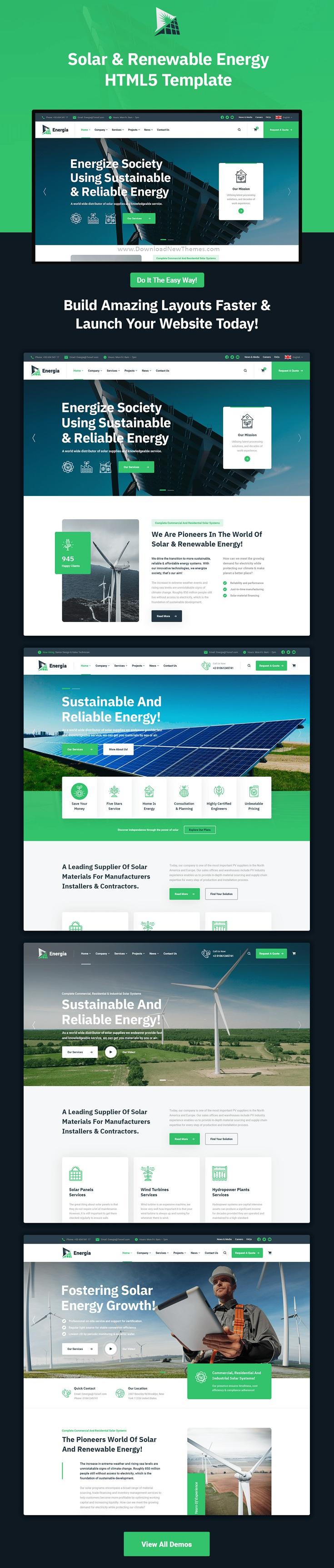 Renewable Energy HTML5 Template