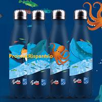 Logo Findus ''Insieme per il futuro degli oceani'' : vinci ogni giorno borracce e weekend