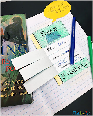 Teaching theme is easy with this 5 step process. Since I started using it, my students understand how to find the theme of every story, book, and poem.