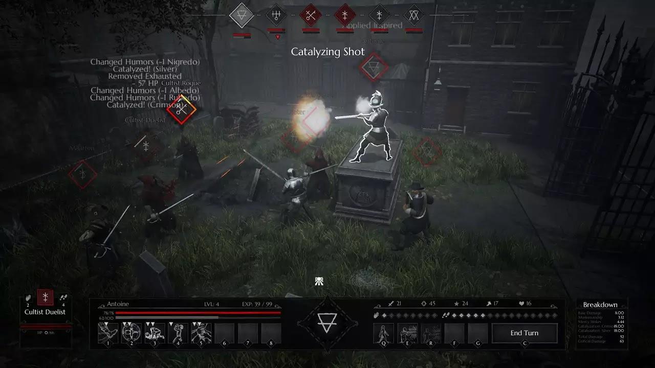 Black Legend game screenshots