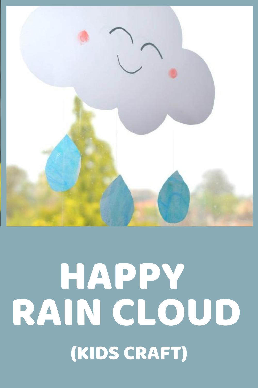 Happy Rain Cloud Craft