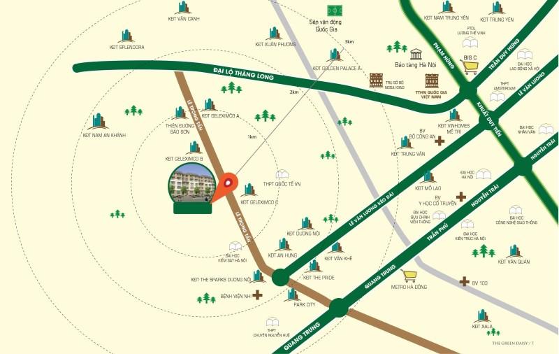 Vị trí dự án ICID Complex Lê Trọng Tấn