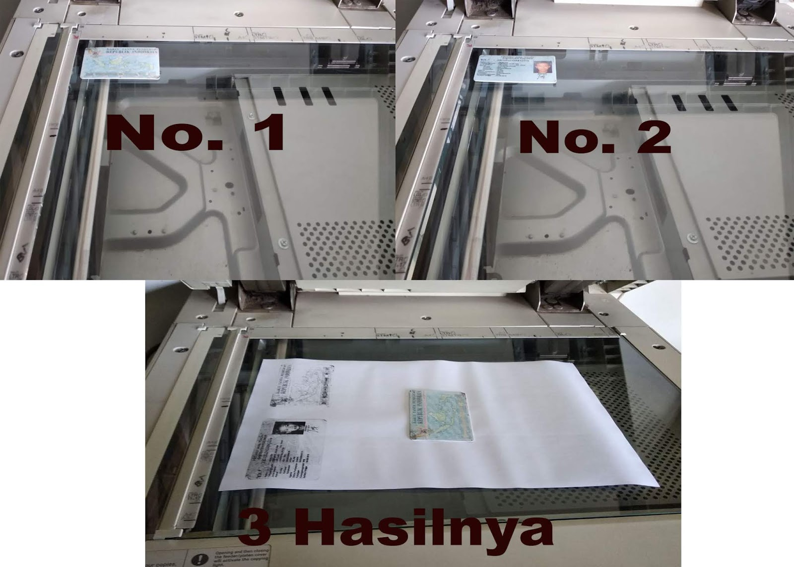 cara fotocopy ktp dan stnk bolak balik