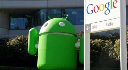Android journey before buying through Google