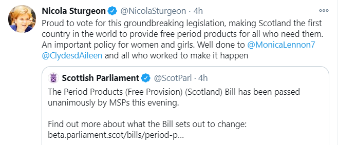Menteri Scotland