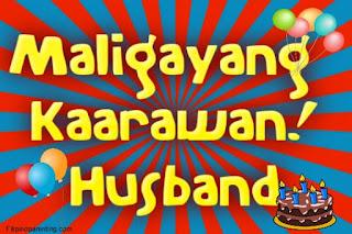 Maligayang Kaarawan Husband