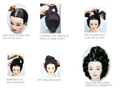 Dressed Up Dreams Traditional Korean Hairdos