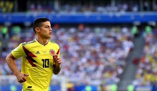 James Rodriguez đại diện cho ngôi sao hy vọng của Colombia
