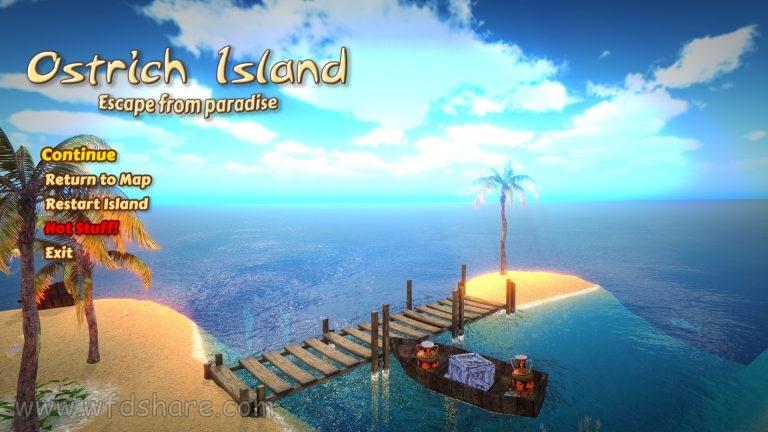 free download setup Ostrich Island full version