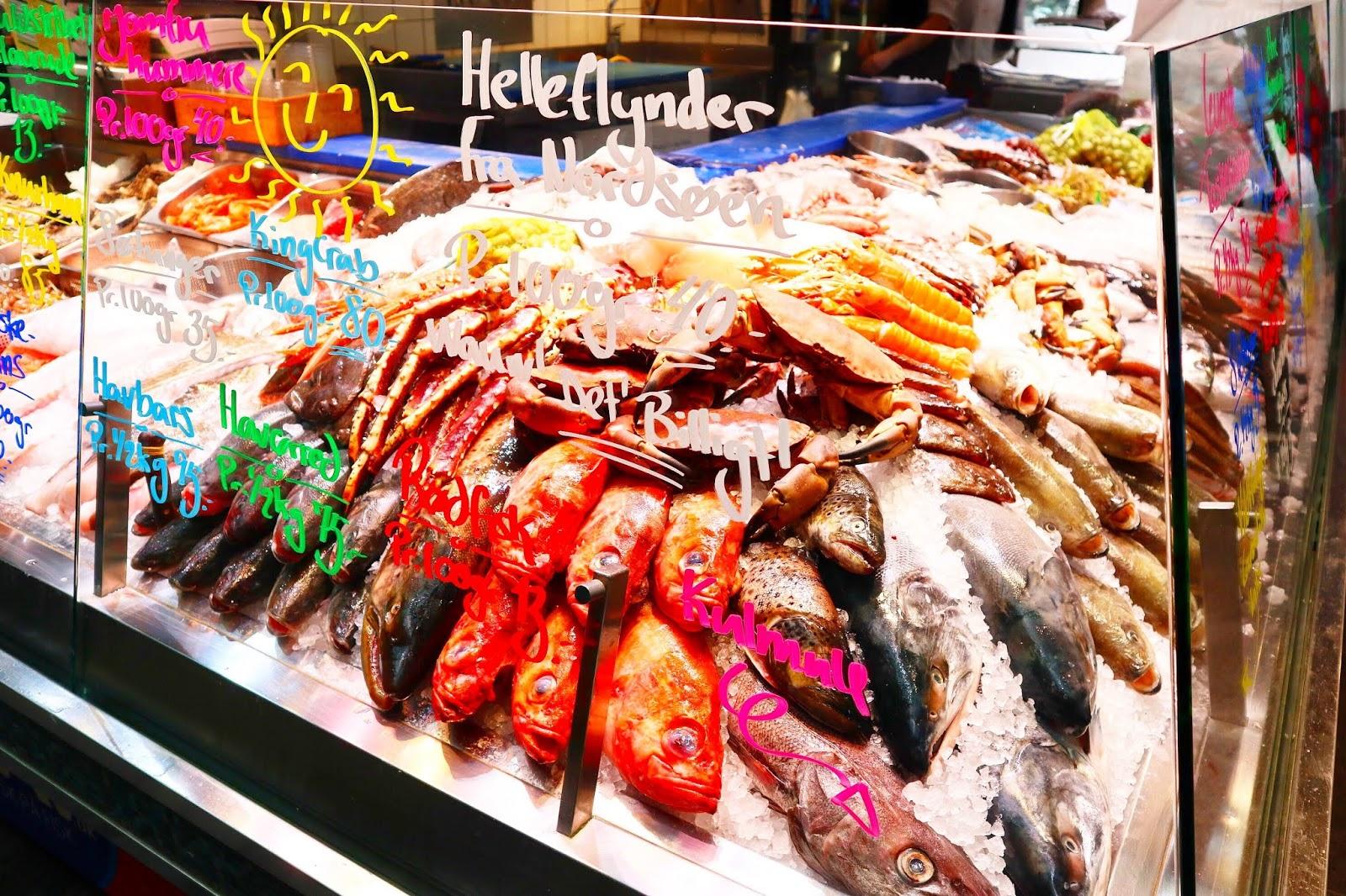 food market in Copenhagen
