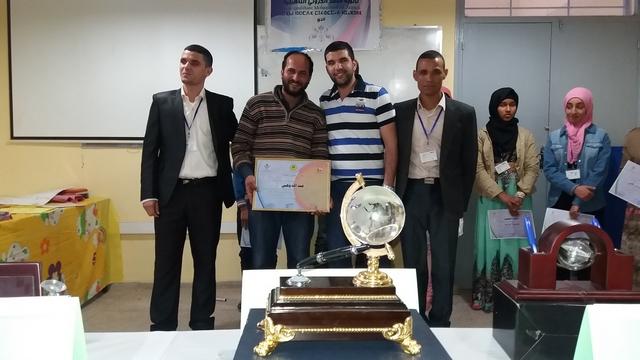 """اختتام فعاليات مسابقة فن """"الإلقاء و التواصل """"بثانوية محمد الجزولي التاهيلية بانزي"""