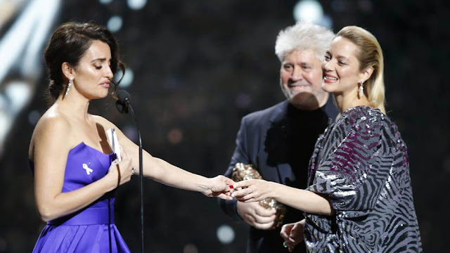 Penélope Cruz gana el césar de honor a toda su carrera