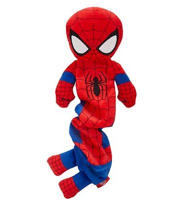Marvel 's Spider-Man Bungee Plush Squeaky Dog Toy