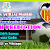 Football Match Prediction: Valencia vs Real Madrid, Spain – Super Cup