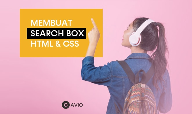 Cara Membuat Kotak Tombol Pencarian dengan HTML dan CSS ...