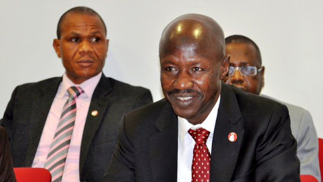 Fraudsters working in banks, aiding corrupt politicians – EFCC