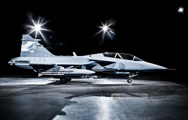 Saab Siap Berikan TOT  Pesawat Tempur Gripen Kepada India