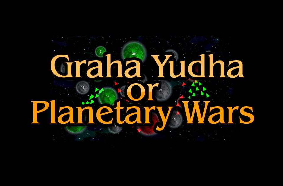 Graha Yuddha or Planetary Wars - Vedic Astrology Blog