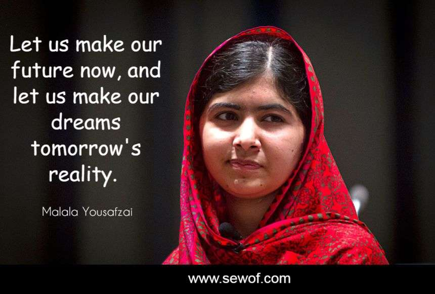Quotes From I Am Malala Captivating Best Quotes Of Malala Yousafzai Quotes Author Of I Am Malala  Sewof