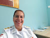 Elas fazem história: A oficiala médica Ana Fernanda é a primeira tenente coronel da PMBA