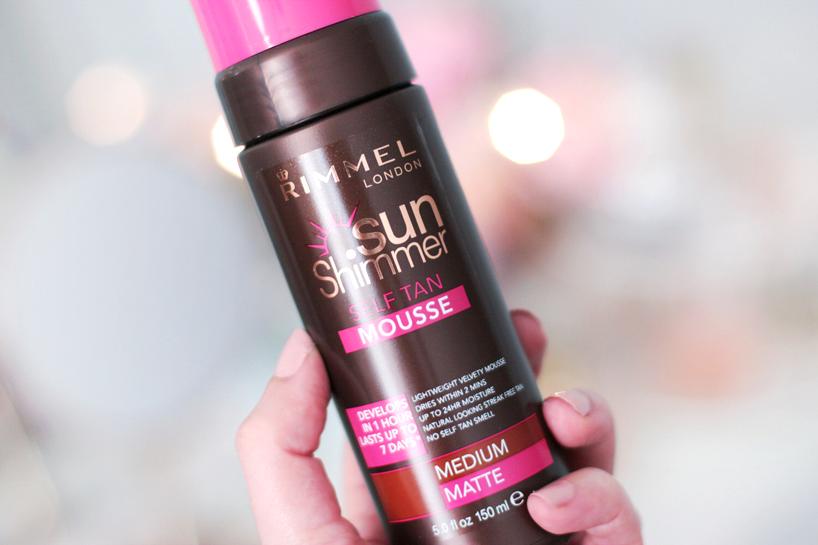 Rimmel London Sun Shimmer self tan review