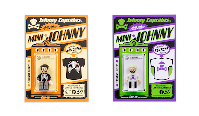 Johnny Cupcakes LEGO Mini Figures by The Minifig Co. – Johnny Bones & Johnny Juice