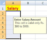 What is Data Validation in Excel with Example in Hindi