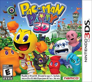 Rom Pac-man Party 3D 3DS