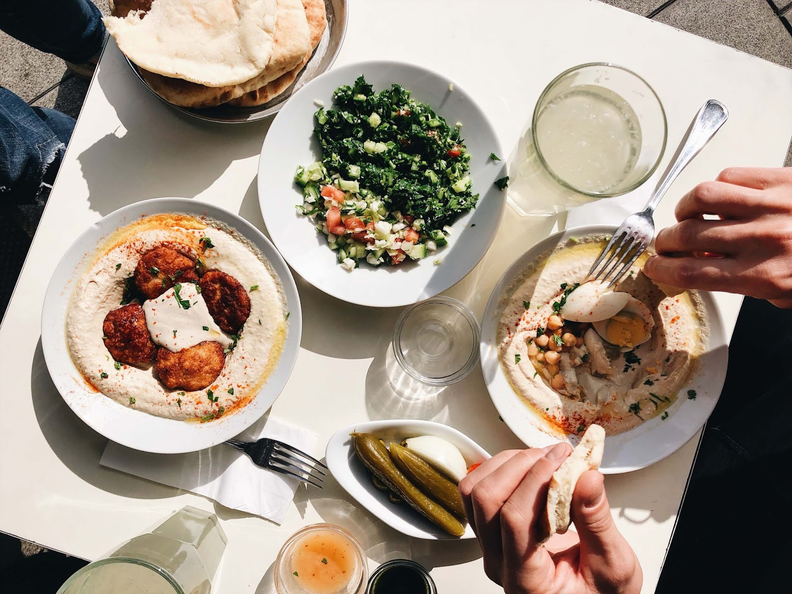 gdzie warto zjeść w Tel Avivie
