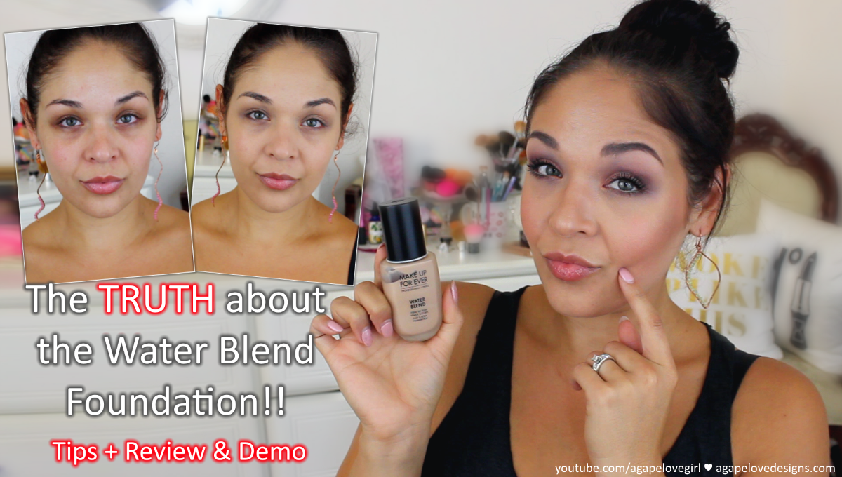 Hey beauty babes, today I have a very thorough review on the New MUFE waterblend foundation for you! I know this is not super new and there are a lot of ...