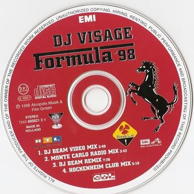 Dj Visage Formula 98 Eu Cdm Classics Retro