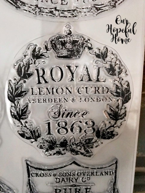 Royal Lemon Curd Aberdeen & London 1863