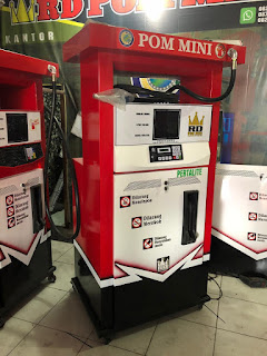 1 nozzle portable kapasitas 100 liter Harga: Rp 9.000.000