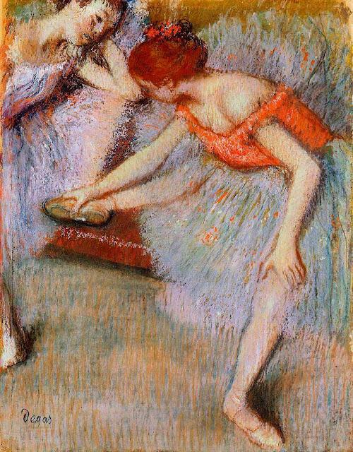 Эдгар Дега - Танцовщицы (ок.1895)